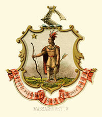 Massachusetts state coat of arms