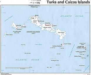 Turks and Caicos Islands 1976 CIA map.jpg