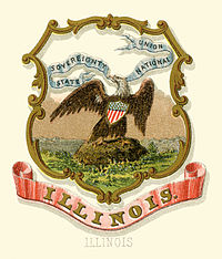 Illinois state coat of arms
