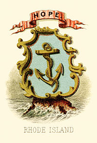 Rhode Island state coat of arms