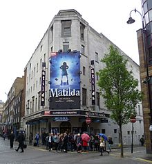 Matilda the Musical showing in the West End