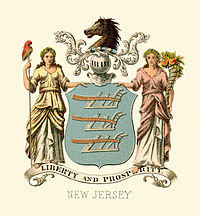 New Jersey state coat of arms