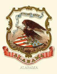 Alabama state coat of arms
