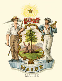 Maine state coat of arms