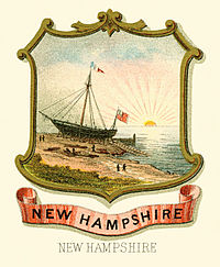 New Hampshire state coat of arms